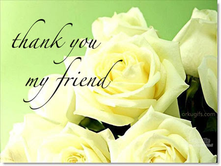 Thank You My Friend Images And Messages