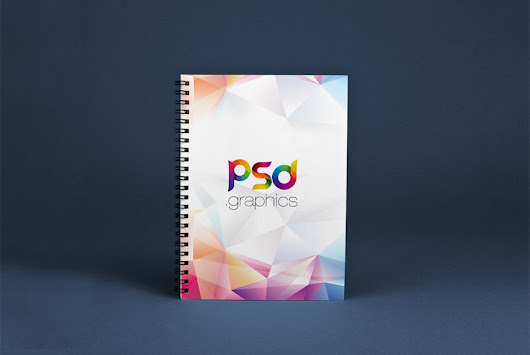 Spiral Notebook Mockup Free PSD | PSD Graphics