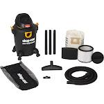 Shop-Vac 6 Gallon 3.5 Peak HP High Performance Wet / Dry Vacuum, Black