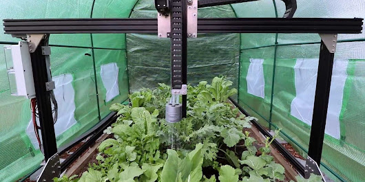 This robot will grow all the food you need in your backyard