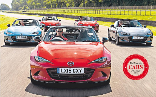 Mazda MX-5 named Telegraph Car of the Year 2016