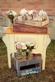 Style Me Pretty | Gallery | Picture | I would replace pink flowers with yellow ones!