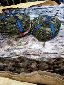 Container Of Military Wears Intercepted By Customs In Port-Harcourt (Photos)