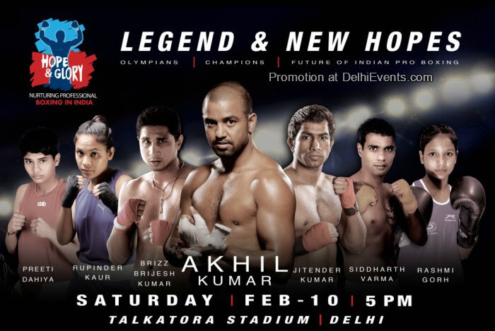 Hope Glory Boxing Legend New Hopes Talkatora Stadium Creative