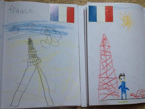 France journal entry