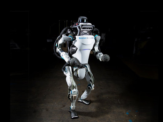 Watch the Boston Dynamics Atlas Robot Do a Backflip. Yes, a Backflip | WIRED
