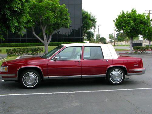 Find used 1988 Cadillac Sedan de Ville in Anaheim ...
