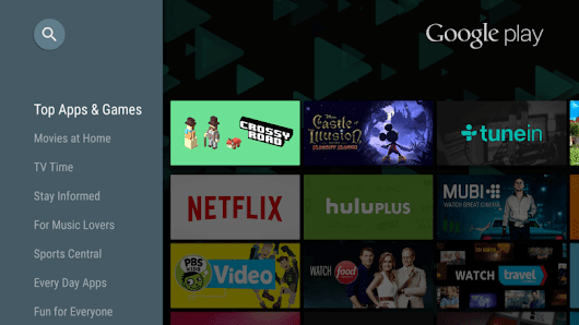 Google Play for Android TV updated to surface over 600 apps and games previously only accessible via search