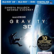 Amazon.com: Gravity (Blu-ray 3D + Blu-ray + DVD + UltraViolet Combo Pack): Sandra Bullock, George Clooney, Alfonso  Cuaron: Movies & TV