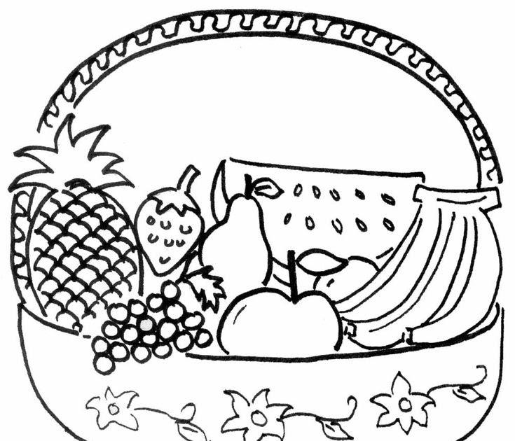 Mewarnai Makanan Pokok