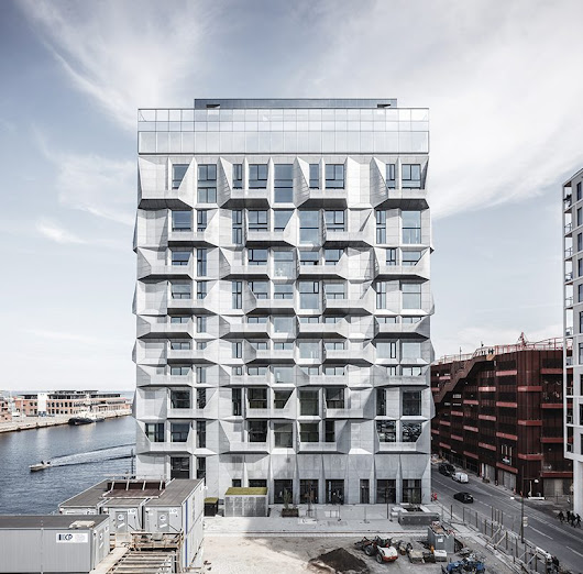 COBE completes construction of the repurposed silo residence in copenhagen