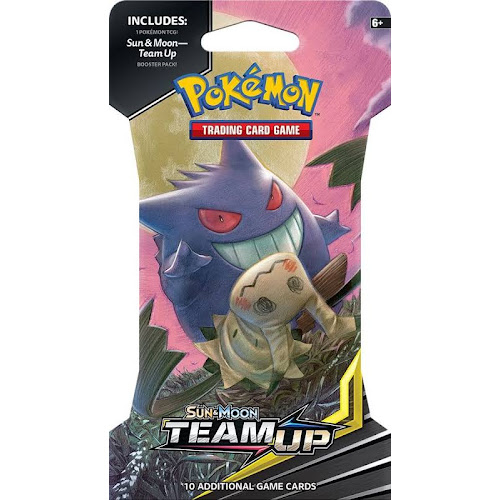 Pokémon - Trading Card Game: Sun & Moon - Team Up Sleeved Booster