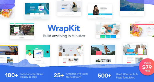 WrapKit: This Powerful UI Kit Boosts Your Bootstrap 4 | NOUPE