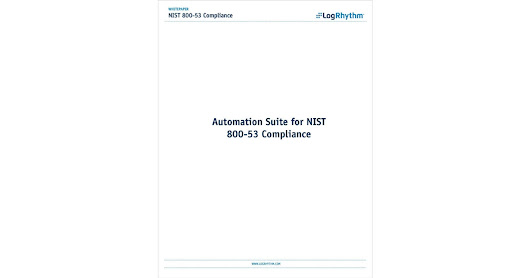 NIST 800-53 Compliance for Federal Agencies