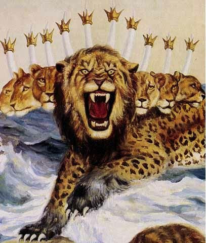 The Beast Empowered by the Dragon (Revelation 13:1-2)