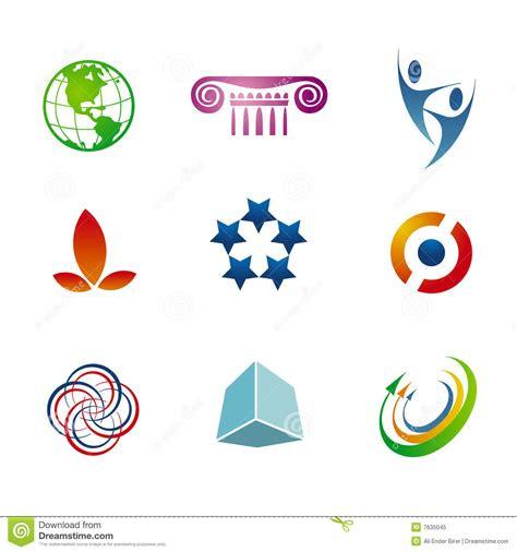 branding logo templates stock vector illustration