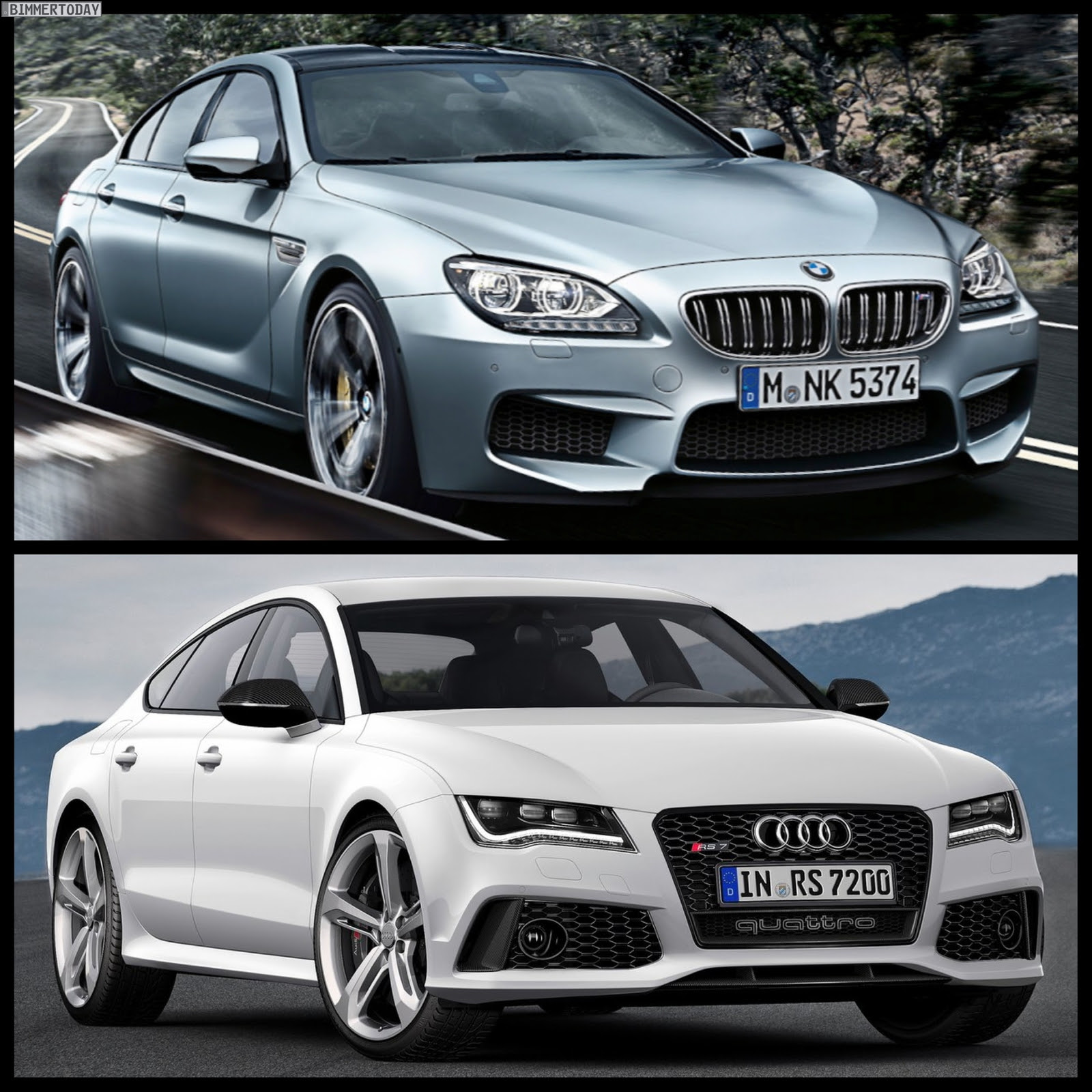 Both cars run on a V8 biturbo engine producing 560 horsepower and a ...