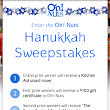 Hanukkah Gift - Win a Kitchen Aid Stand Mixer from Oh! Nuts