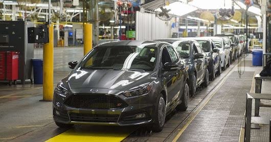 Ford shifting all U.S. small-car production to Mexico