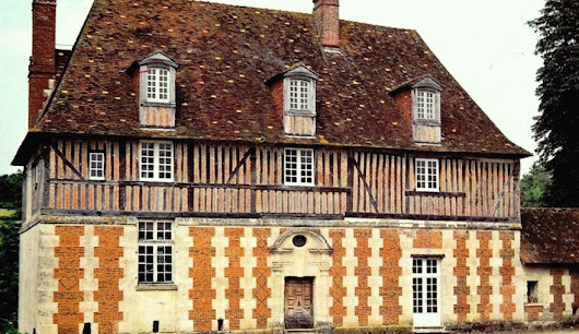 Dragons, nogging and byres; Manor de Querville in the heart of the Pays d'Auge – Normandy Then and Now