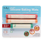 Miu Silicone Baking Mats No Mess for Roasting (baking) Vegetables, Cookies and More