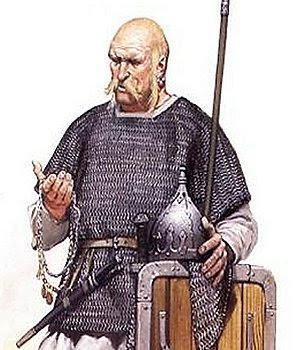 Guerrioreo slavo (IX secolo)