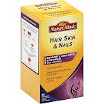 Nature Made Hair, Skin & Nails, 2500 mcg, Softgels - 60 count