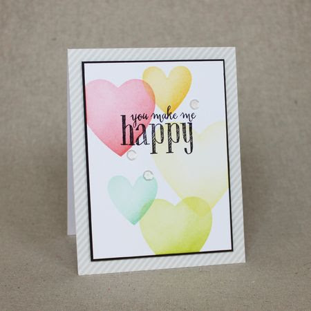MIM 248 You Make Me Happy Card