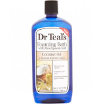 Dr Teals Foaming Bath, with Pure Epsom Salt, Coconut Oil - 34 fl oz