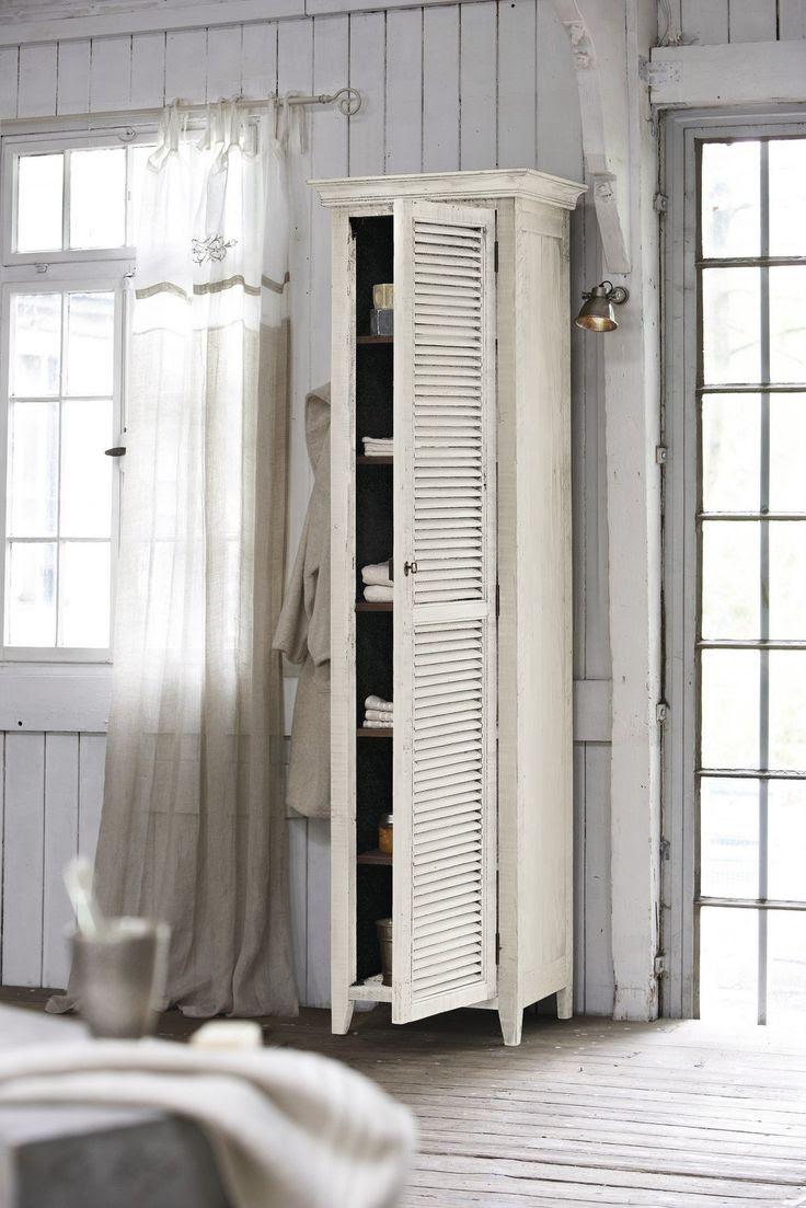 white armoire.