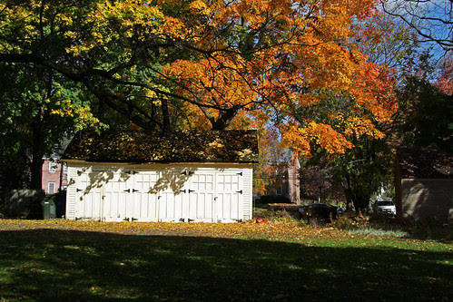 Behind the Hurlbut Dunham House