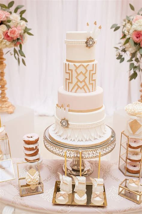 Best 25  1920s wedding cake ideas on Pinterest   Art deco