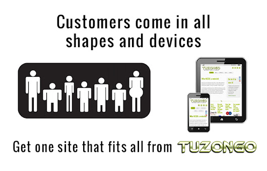Customers come on all devices « TUZONGO Web Design