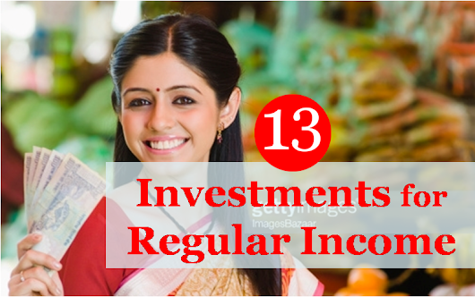 Investments for Regular Income