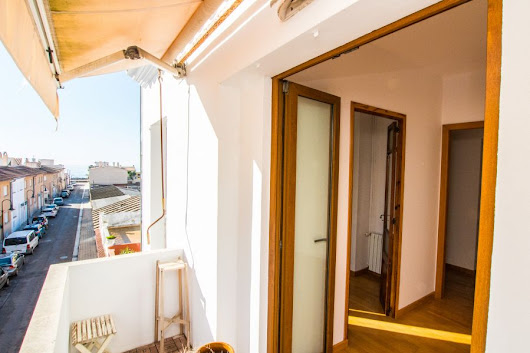 Portixol/ Es Molinar, Palma de Mallorca: Spacious penthouse in Molinar in walking distance to the beach