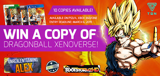 TGN Dragon Ball Xenoverse Sweepstakes - The Gamers Network