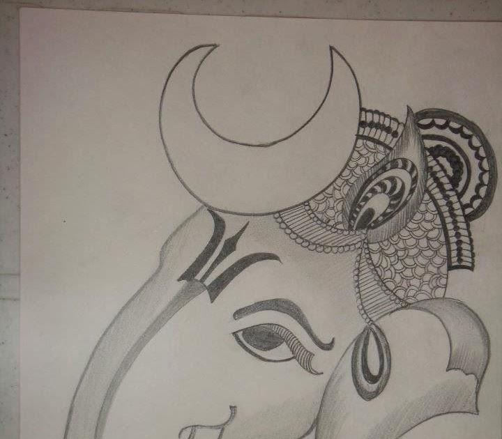 Pencil Drawing Easy Drawing Ideaeasy Vinayagar Pencil Drawing Drawing
