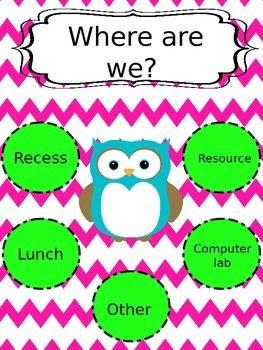 Where are we? (EDITABLE classroom door sign) | Classroom ideas ...