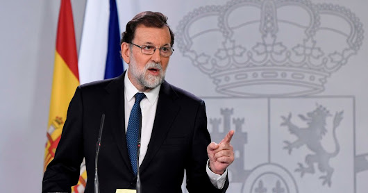 Spain Will Remove Catalan Leader, Prime Minister Announces