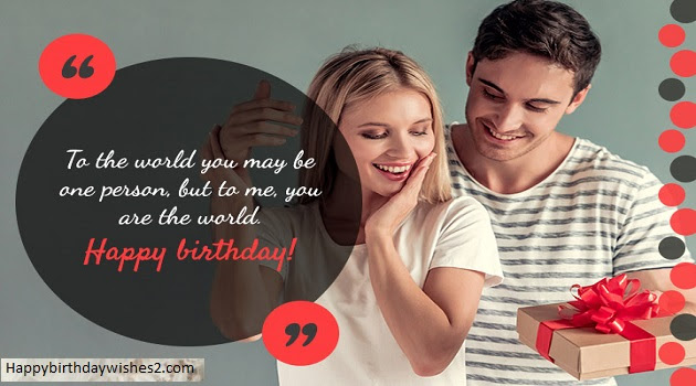 100 Romantic Happy Birthday Wishes Messages Quotes Status For Wife