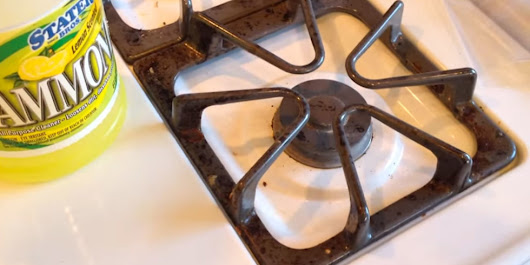 After You Watch This Video You Will Never Clean Your Stove the Same Way Again