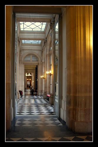 Assemblée Nationale - Corridor Pujol