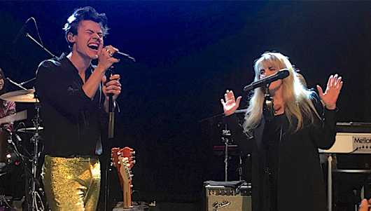 Stevie Nicks on sharing a stage with Harry Styles - United By Pop