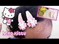 Senangnya Punya Jepit Rambut Hello Kitty dan Gelang Baru ❤ Have a New Bracelet and Hair Clips