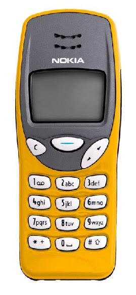 Nokia 3210 yellow