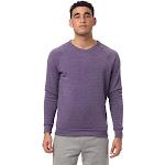 Alternative Champ Eco-Fleece Sweatshirt 2X Eco True Deep Purple , Alternative Apparel