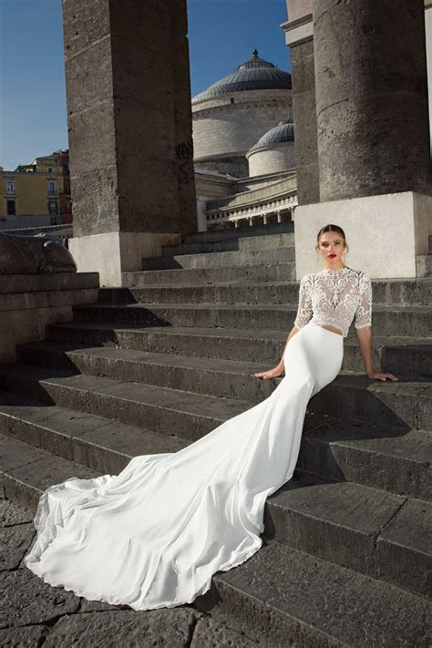 Gowns with Trains Inspired by Adrienne Bailon's Wedding