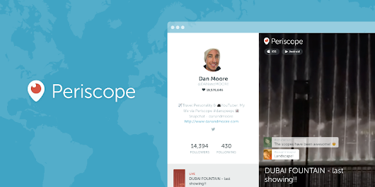 Web Profiles for Periscopers