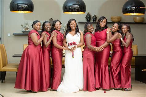 Best Wedding Maids Dresses In Kenya   Wedding