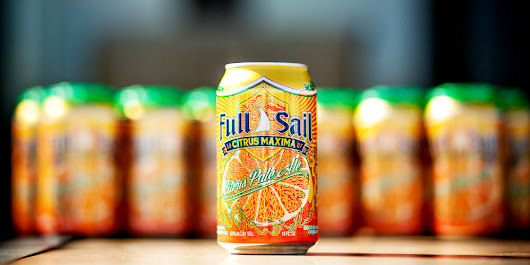 One Sip and Full Sail's Citrus Maxima Will Be Your Main Squeeze - Full Sail Brewery